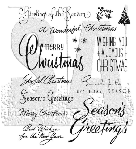 Tim Holtz Cling Rubber Stamps 2020 CHRISTMASTIME 3  CMS427 ** Preview Image