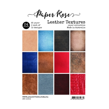 Paper Rose LEATHER TEXTURES Paper Pack 20204