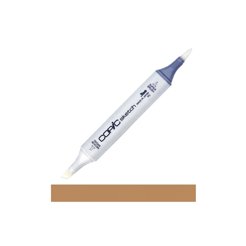 Copic Sketch Marker E57 LIGHT WALNUT Light Brown Preview Image