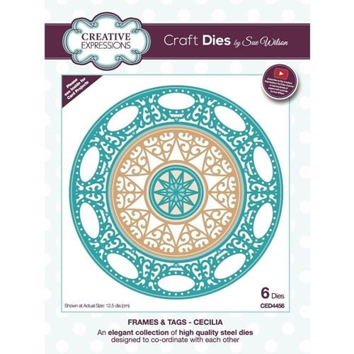 Creative Expressions CECILIA Sue Wilson Frames and Tags Dies ced4456 Preview Image
