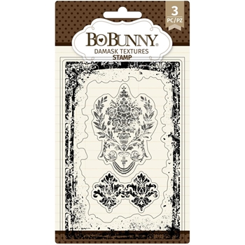 BoBunny DAMASK TEXTURE Clear Stamps 7311146