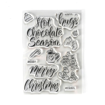 Elizabeth Craft Designs Clear Stamps HUGS cs189