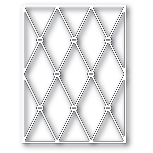 Memory Box KNOTTED DIAMOND BACKGROUND Craft Die 94488 Preview Image