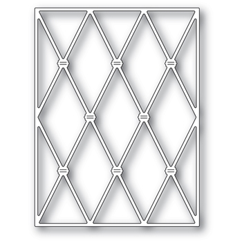 Memory Box KNOTTED DIAMOND BACKGROUND Craft Die 94488