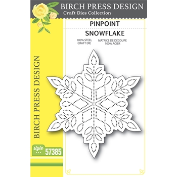 Birch Press Design PINPOINT SNOWFLAKE Craft Dies 57385