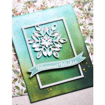 Birch Press Design MINI SNOWFLAKE FRAME LAYER SET Craft Dies 57391