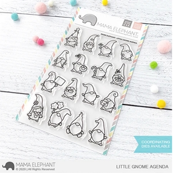 Mama Elephant Clear Stamps LITTLE GNOME AGENDA