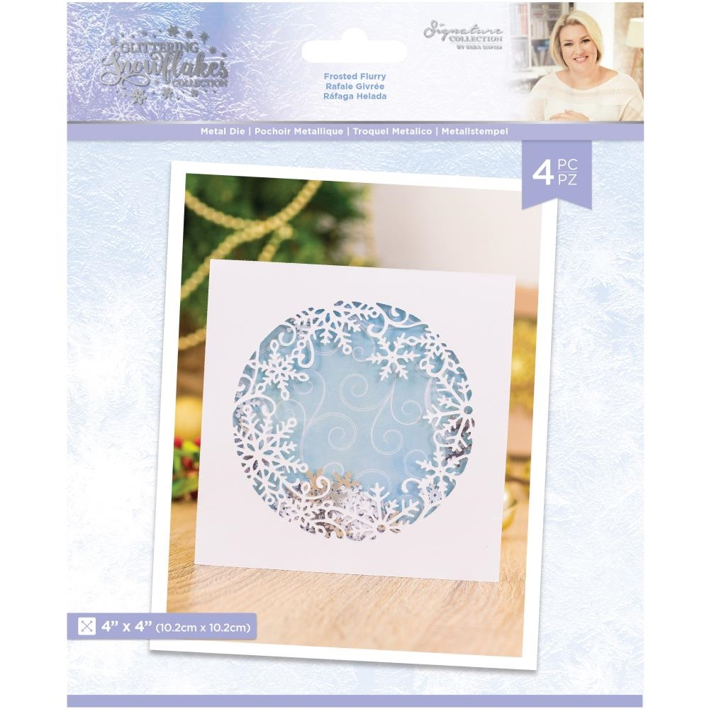 Crafter's Companion FROSTED FLURRY Die Set sgsmdfrfl* zoom image