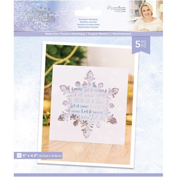 Crafter's Companion FROSTED WINDOW Die Set sgsmdfrwi