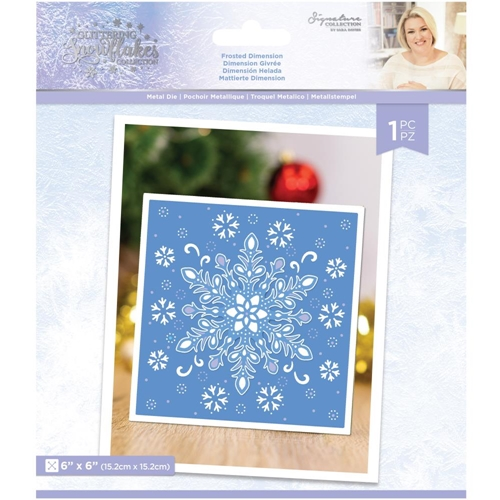 Crafter's Companion FROSTED DIMENSION Die Set sgsmdfrdi Preview Image