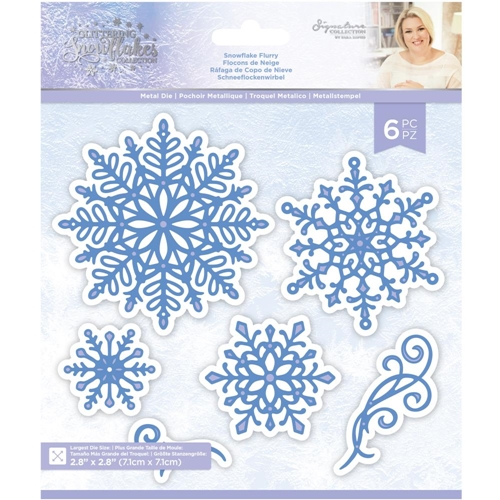 Crafter's Companion SNOWFLAKE FLURRY Die Set sgsmdsnfl Preview Image