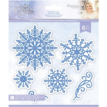 Crafter's Companion SNOWFLAKE FLURRY Die Set sgsmdsnfl