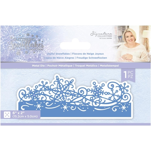 Crafter's Companion JOYFUL SNOWFLAKES Die Set sgsmdjosn Preview Image