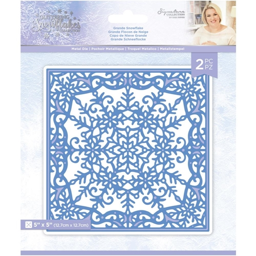 Crafter's Companion GRANDE SNOWFLAKE Die Set sgsmdgrsn Preview Image