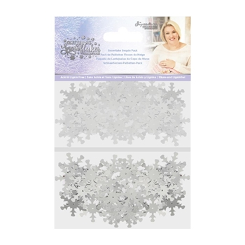 Crafter's Companion SNOWFLAKE Sequin Pack sgssnseq*