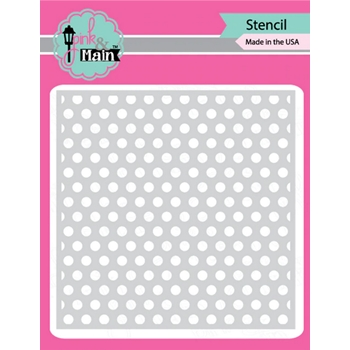 Pink and Main DOTTY Stencil PMS036
