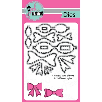 Pink and Main STITCHED BOWS Dies PNM304