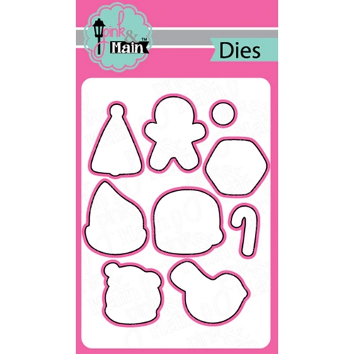 Pink and Main CHRISTMAS COOKIES Dies PNM303 Preview Image