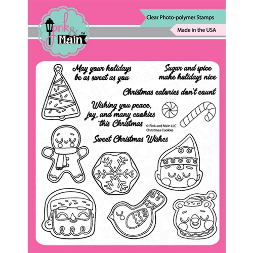 Pink and Main CHRISTMAS COOKIES Clear Stamps PM0427 Preview Image