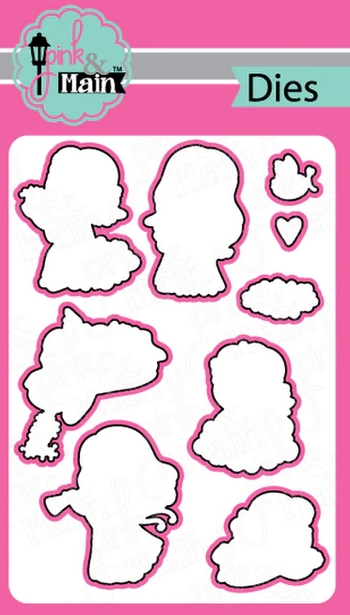 Pink and Main LITTLE ANGELS Dies PNM300 zoom image