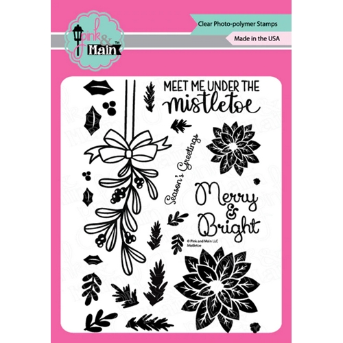 Pink and Main MISTLETOE Clear Stamps PM0430 Preview Image