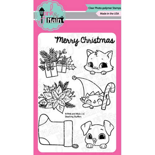 Pink and Main STOCKING STUFFERS Clear Stamps PM0417 Preview Image