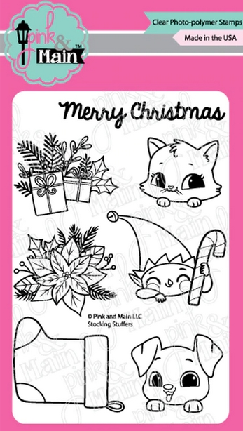 Pink and Main STOCKING STUFFERS Clear Stamps PM0417 zoom image