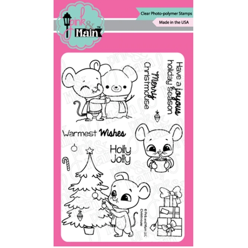 Pink and Main CHRISTMOUSE Clear Stamps PM0428 Preview Image