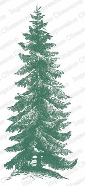 Impression Obsession Cling Stamp NORWAY SPRUCE 3234 LG zoom image