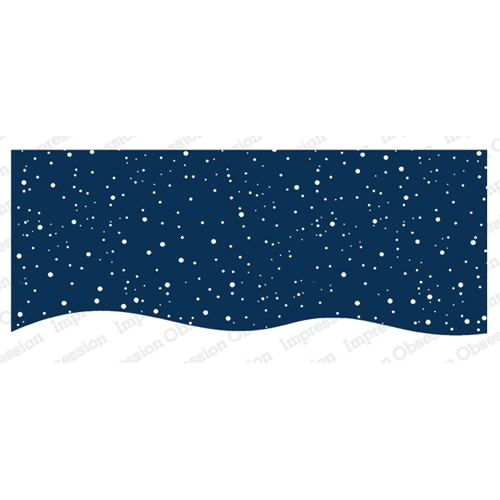 Impression Obsession Cling Stamp SNOWY NIGHT 3235 LG Preview Image