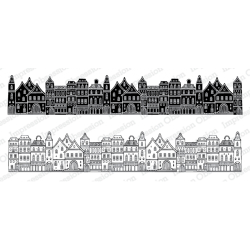 Impression Obsession Cling Stamps TOWN 3233 LG Preview Image