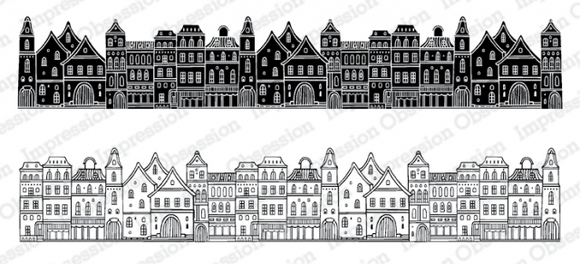 Impression Obsession Cling Stamps TOWN 3233 LG zoom image