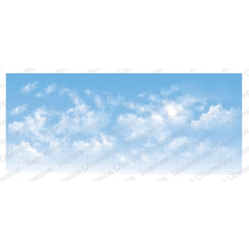 Impression Obsession Cling Stamp CLOUDY SKY 3232 LG