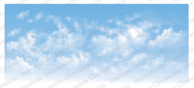 Impression Obsession Cling Stamp CLOUDY SKY 3232 LG zoom image