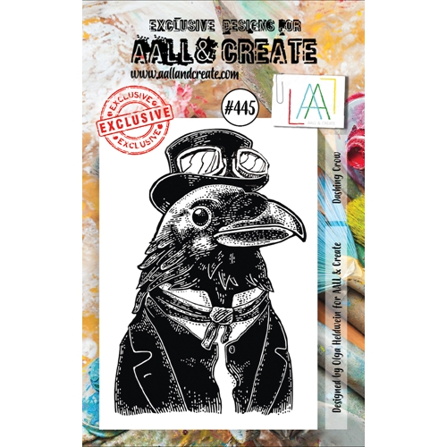AALL & Create DASHING CROW A7 Clear Stamp aal00445 Preview Image