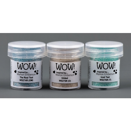 WOW Embossing Powder Trios TOTEALLY AMAZING Set WOWKT036 Preview Image