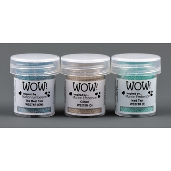 WOW Embossing Powder Trios TOTEALLY AMAZING Set WOWKT036