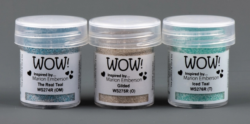 WOW Embossing Powder Trios TOTEALLY AMAZING Set WOWKT036 zoom image