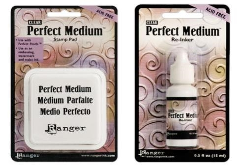 Ranger Clear PERFECT MEDIUM PAD PLUS REFILL Ink Set PPP16205 AND PPP16212 Preview Image