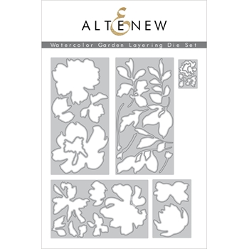 Altenew WATERCOLOR GARDEN LAYERING Dies ALT4562