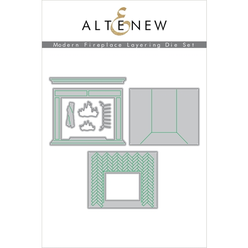 Altenew MODERN FIREPLACE LAYERING Dies ALT4561 Preview Image