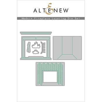 Altenew MODERN FIREPLACE LAYERING Dies ALT4561