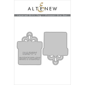Altenew LAYERED GIFT TAG PRESENT Dies ALT4557