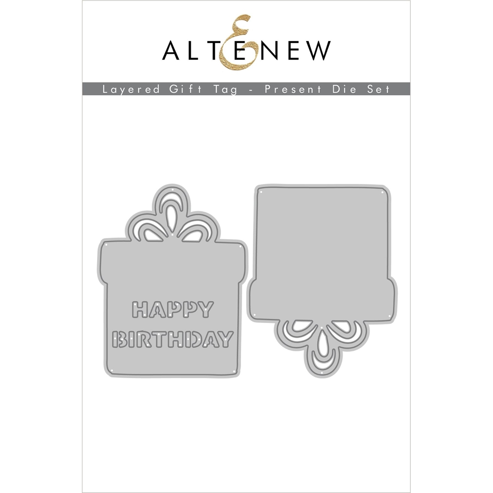 Altenew LAYERED GIFT TAG PRESENT Dies ALT4557 zoom image