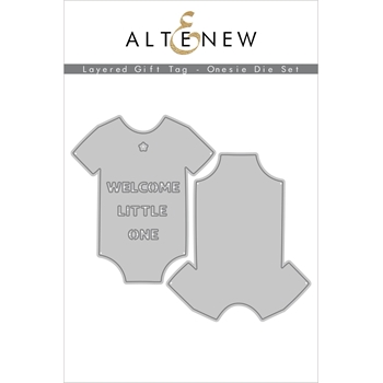 Altenew LAYERED GIFT TAG ONESIE Dies ALT4556