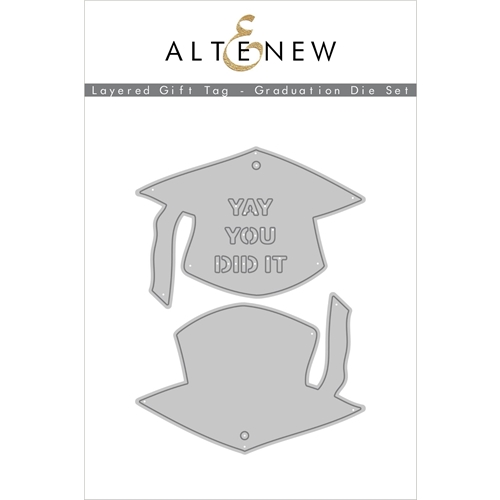 Altenew LAYERED GIFT TAG GRADUATION Dies ALT4555 Preview Image