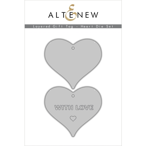 Altenew LAYERED GIFT TAG HEART Dies ALT4554 Preview Image