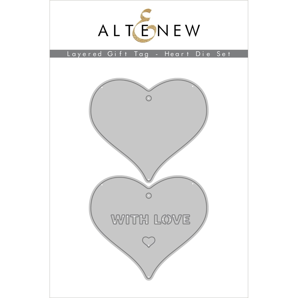 Altenew LAYERED GIFT TAG HEART Dies ALT4554 zoom image