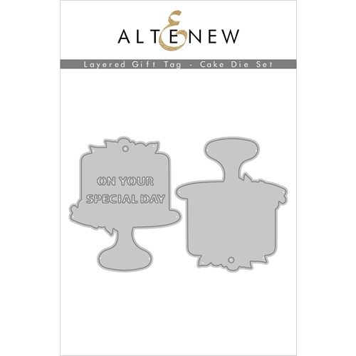 Altenew LAYERED GIFT TAG CAKE Dies ALT4553 Preview Image