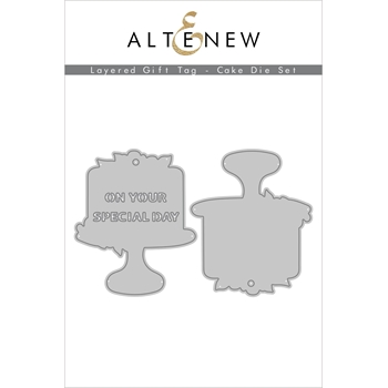 Altenew LAYERED GIFT TAG CAKE Dies ALT4553